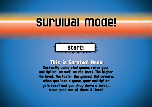 Survival Mode!