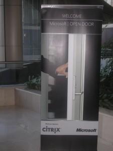 Microsoft Open Door Logo