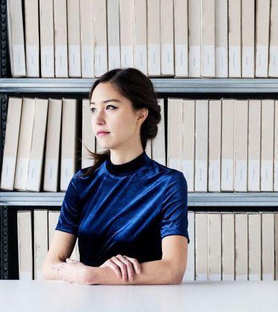 Portrait of architect Midori Hasuike