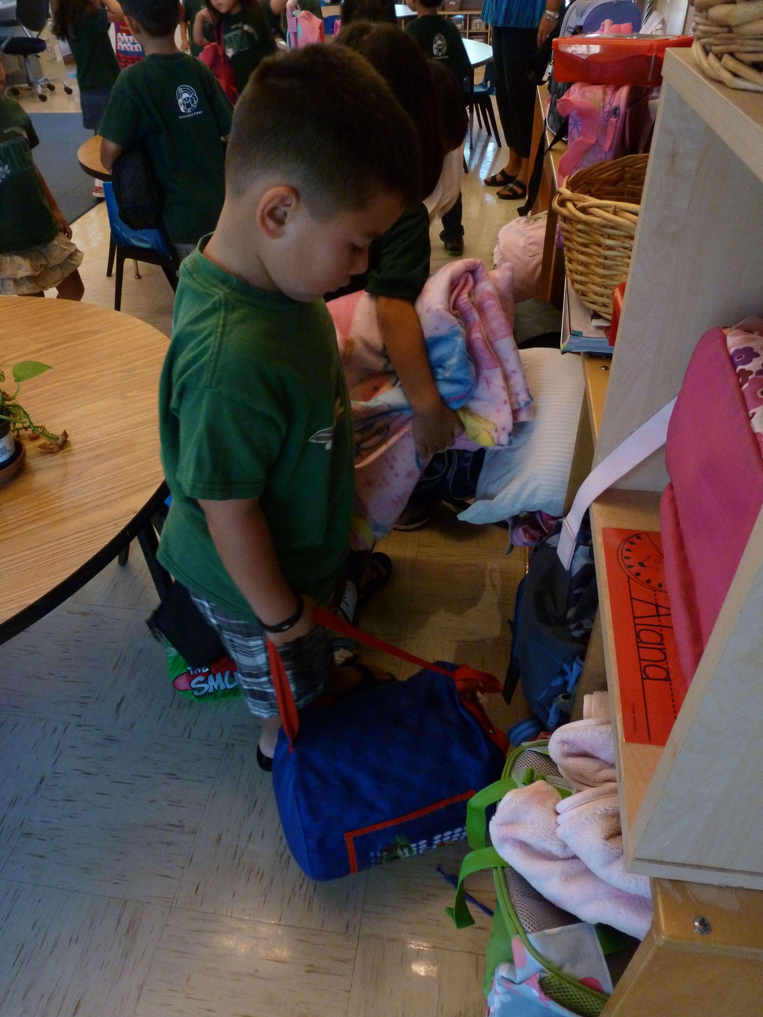 chair covers for classroom 5 piece folding table and set welcome to kindergarten! - mid-pacific institute
