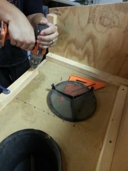 Sand Blasting Cabinet
