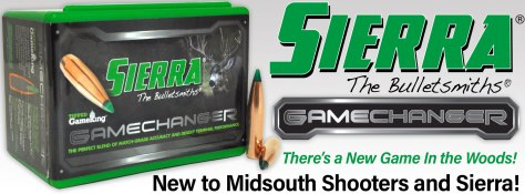 Sierra Gamechanger Bullets Now At Midsouth Shooters!