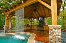 backyard oasis custom-built