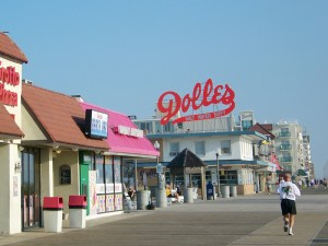 Rehoboth Beach-DE-Boardwalk-Dollies
