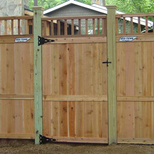 Wooden Fence Gates