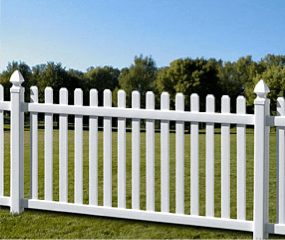 Florida Style Picket Fence