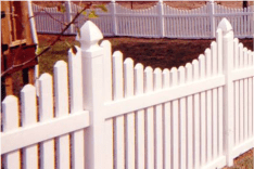 Pennsylvania Style Picket Fence