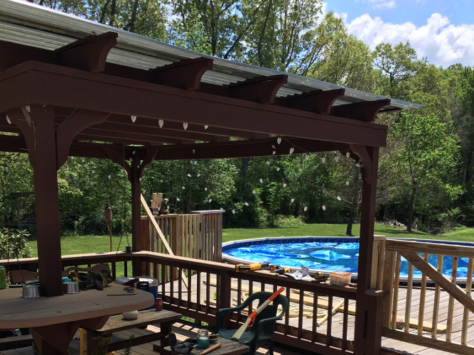 Installed Pergolas and Gazebos | Murfreesboro | Franklin