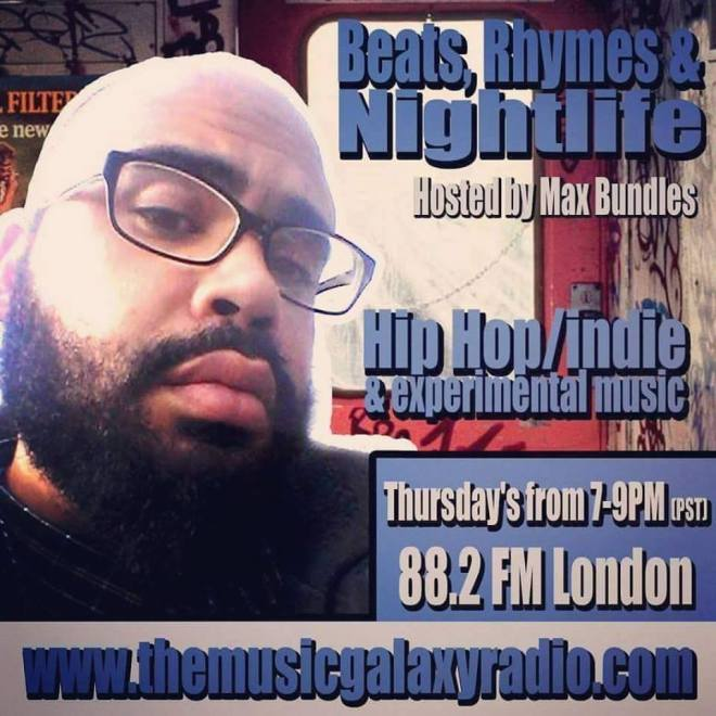 Beats Rhymes Nightlife-Max Bundles-Music Galaxy Radio