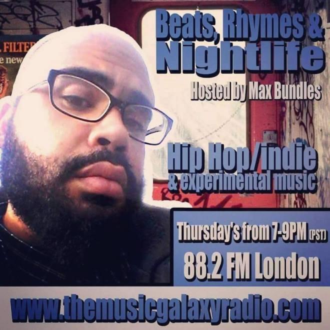 Beats Rhymes Nightlife-Max Bundles-Music Galaxy Radio