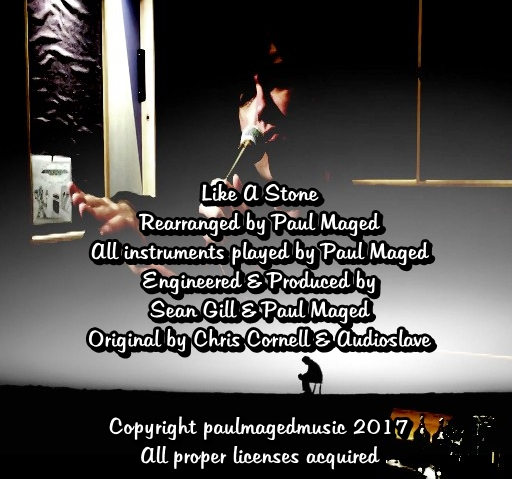 Paul Maged-Like A Stone-Cover-Back