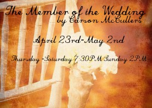 THE MEMBER OF THE WEDDING ART Date Change Vintage