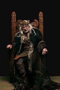 Rodney Clark as King Lear