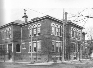 Central High School was located on the site of the present day Juliette Hampton Library