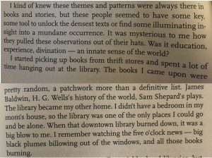 Quote from Beck's intro to the Best American Non-Required Reading