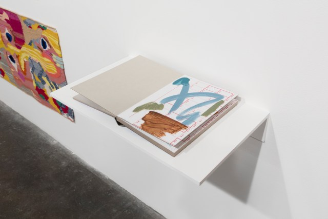 Laura Owens, Untitled, 2015. Handmade book, 18 pages. Courtesy the artist and Gavin Brown's Enterprise.
