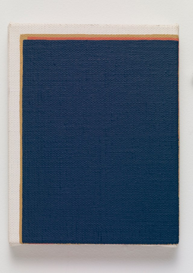untitled, 2015. Oil on canvas. 18.5 x 14.3 x 2 cm; 7 ⅛ x 5 ½ x ¾ inches.