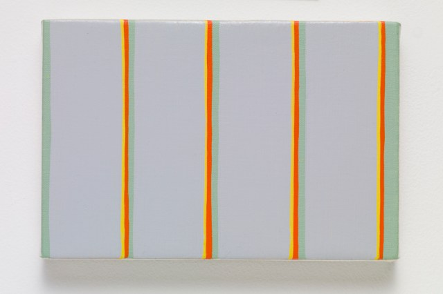 MPCG, 2015. Oil on canvas. 12.3 x 18.3 x 2.3 cm; 4 ¾ x 7 ⅛ x ⅞ inches.