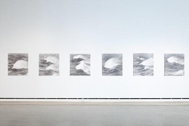 Un Voyage en Mer Du Nord (A Voyage on the North Sea), 2007. 6 b&w photographs, silver gelatin prints. 41 x 31 ½ inches each.