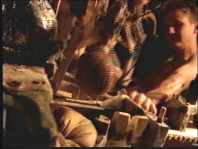 Chris Larson, The Gastral Colony, film still, 2000. 16 mm transfer to DVD. Directed by Jason Spafford. Sound design by Alex Oana.