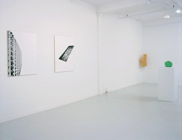 Storage and Retrieval, installation view. Left to right: Stevie Rexroth, Michael LaForte, Motonobu Kurokawa.