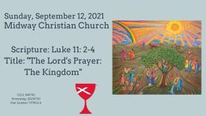 Sermon Banner-September 12, 2021