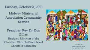 Sermon Banner-October 3, 2021