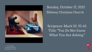 Sermon Banner-October 17, 2021