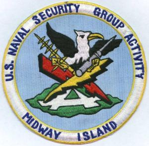 US Navy Sec Gru Acty Midway Island