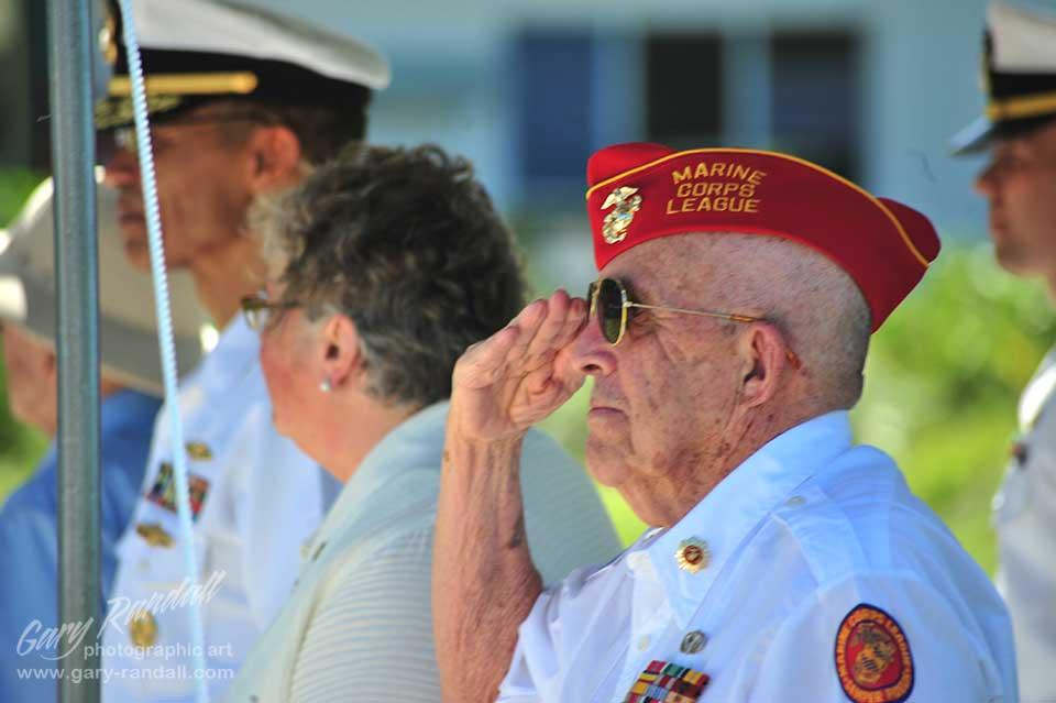 Sgt. Edgar Fox Battle of Midway Survivor