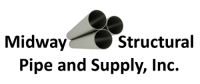 Midway Structural Pipe Supplier: Steel, Oilfield, Natural Gas