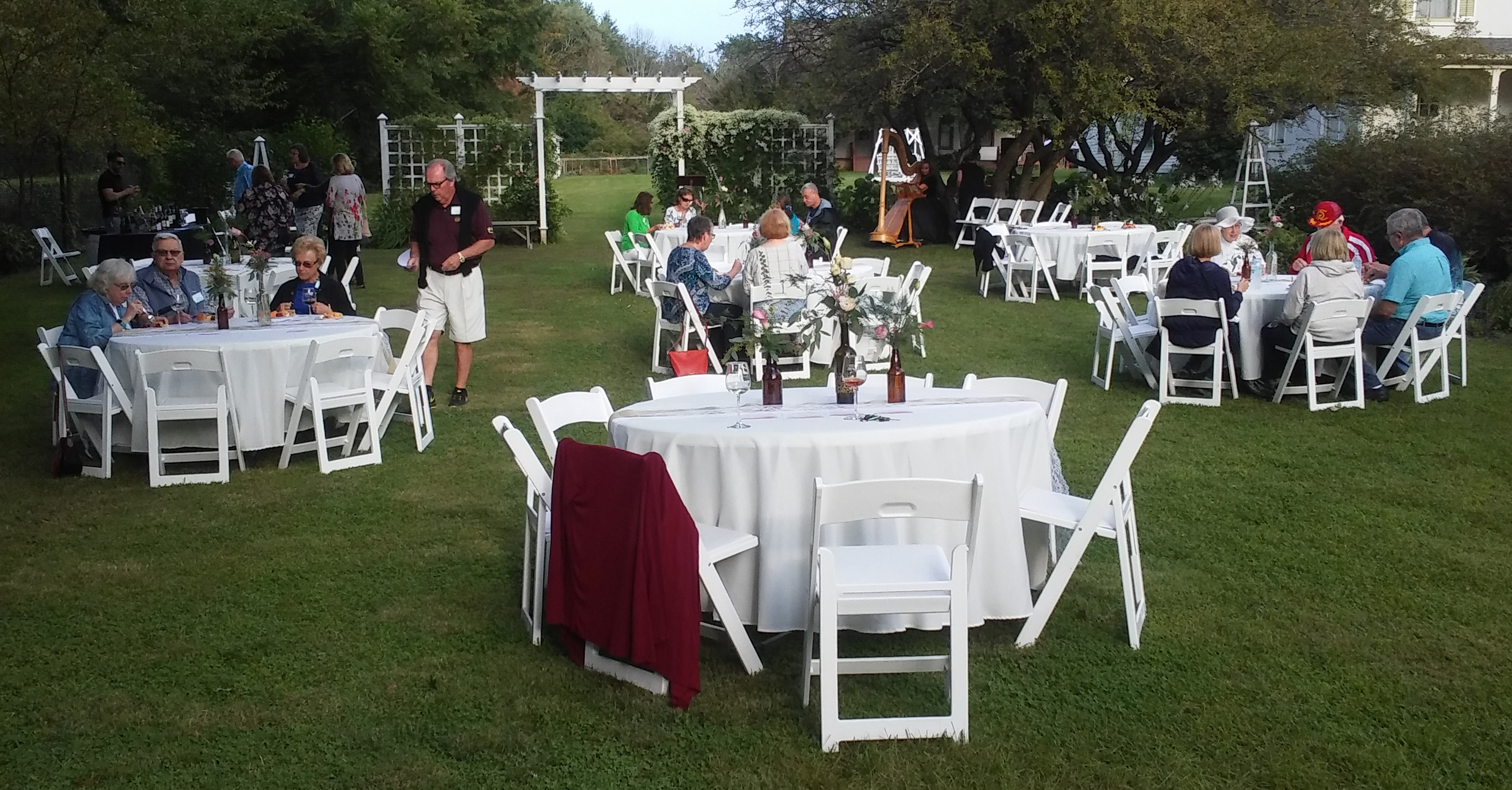 chair cover rentals rockford il casters for office chairs on carpet wedding venue midway village museum moonlight garden
