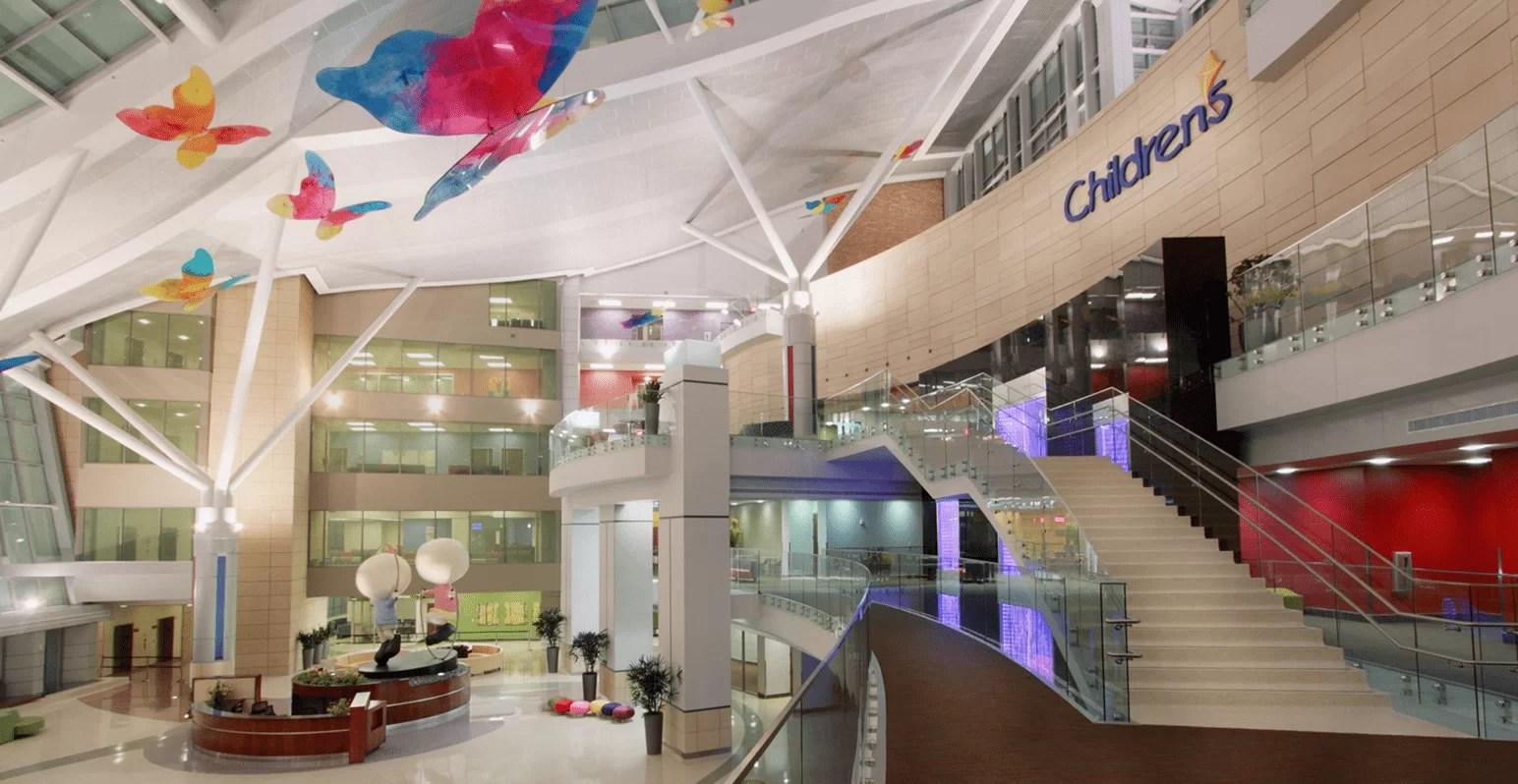 Bubble Wall Vertical Chambers Oklahoma University Children s Hospital