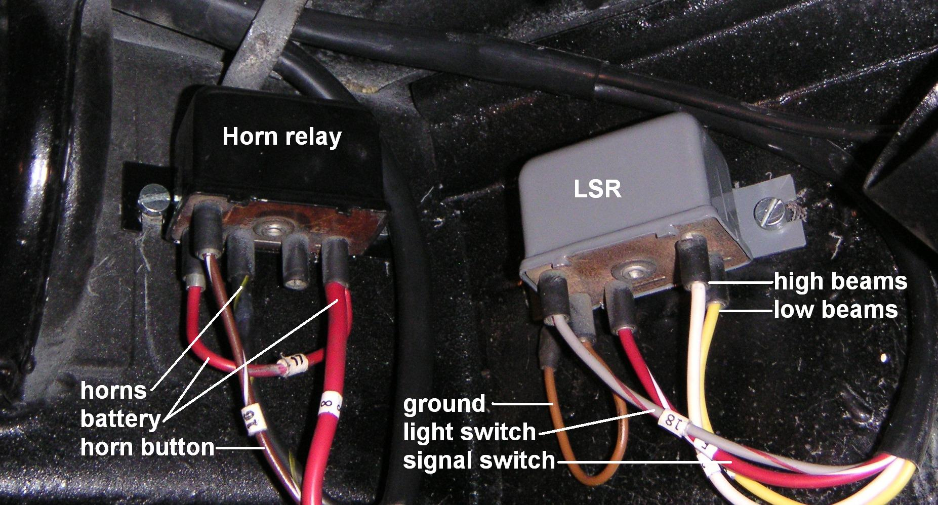 hight resolution of  which is on the right hand end of the bulkhead behind the dashboard in t6 cars the relays are located in the trunk directly above the fuse block