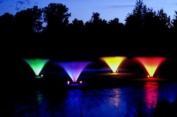 kasco led fountain lights