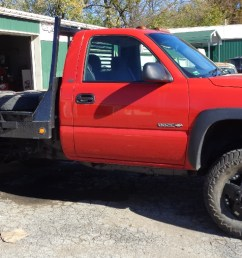 1 1 2 inch body lift and wheel spacers thanks greg bain 2002 chevy 3500 hd [ 1500 x 765 Pixel ]
