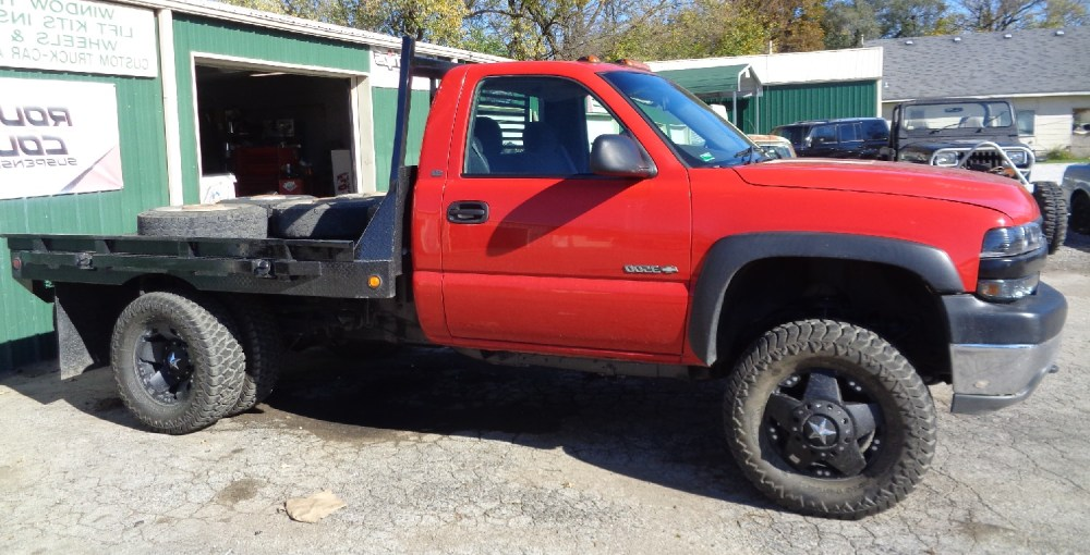 medium resolution of 1 1 2 inch body lift and wheel spacers thanks greg bain 2002 chevy 3500 hd