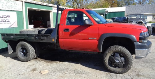 small resolution of 1 1 2 inch body lift and wheel spacers thanks greg bain 2002 chevy 3500 hd