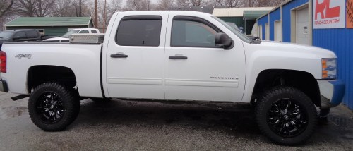 small resolution of 2013 chevy 1500 silverado 7 1 2 inch rough country suspension lift