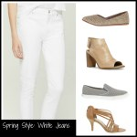 Spring Style: White Jeans