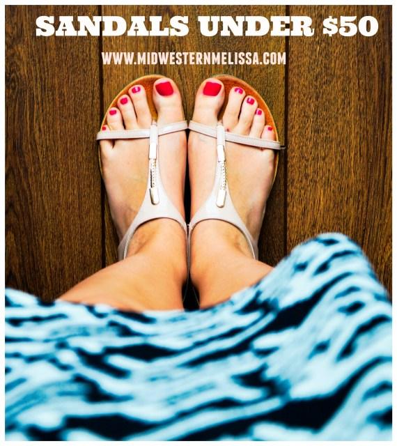 sandals under $50