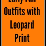 Capsule Wardrobe: Early Fall Outfits with Leopard Flats