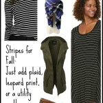 Capsule Wardrobe: Stripes for Fall