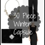 30 Piece Winter Capsule Wardrobe