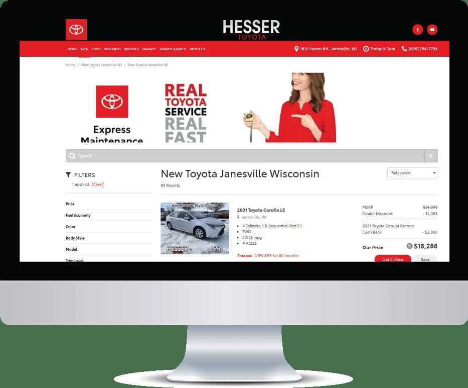 Hesser Toyota Computer