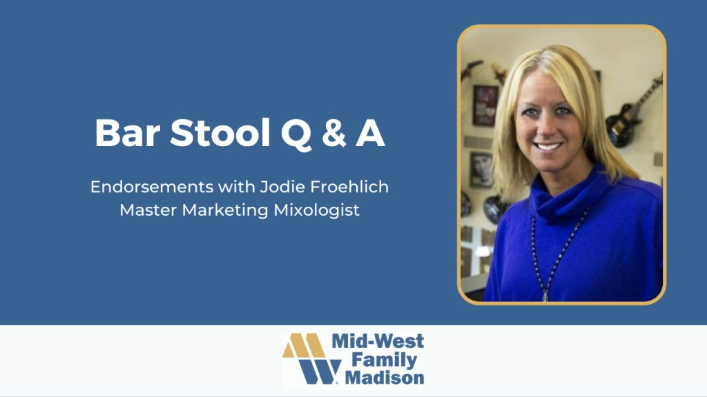 Jodie Froehlich on Endorsements