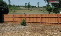 4 Foot High Wood Private Fences - Midwest Fence