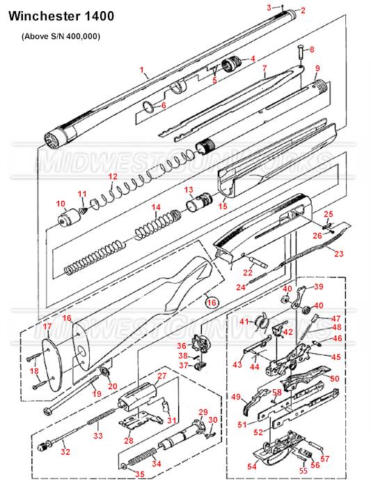 Winchester 1400/1500 Online Parts