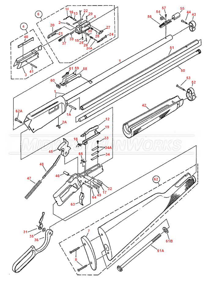 Winchester 94-22 / 9417 Parts