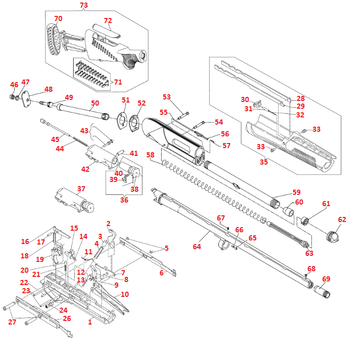 Gun Trigger Diagram, Gun, Free Engine Image For User